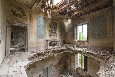 romain veillon romain veillon photographs abandoned buildings around the