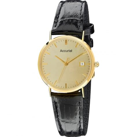 accurist s 9ct gold plated gd14614s watches