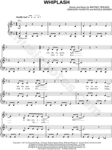"Selena Gomez & The Scene ""Whiplash"" Sheet Music in D Minor"
