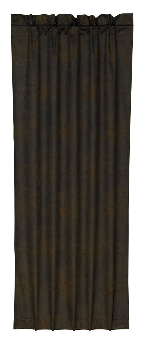 leather curtains drapes pungo ridge luxury faux leather curtain curtains
