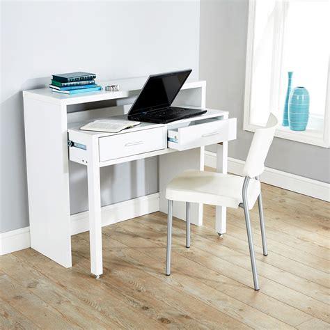 Computer Console Desk Regis Extending Console Table Study Computer Desk 2 Drawers Retractable Shelf Ebay