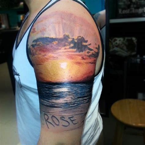 sunset tattoo designs sunset tattoos www pixshark images galleries