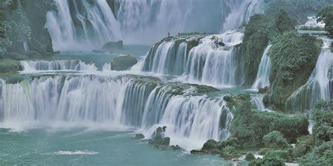 beautiful scenic waterfall hd wallpaper wallpapersqu