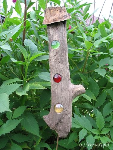 Gartendeko Aus Holz Und Metall by Gartendeko Holz Und Glas Kombiniert