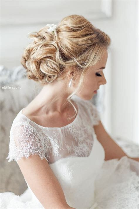 Elegant Hairstyles For A Bride | elegant wedding hairstyles part ii bridal updos tulle