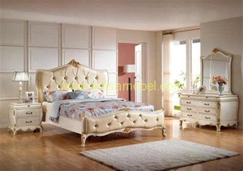 Set Bedroom Murah Kamar Set Mewah Warna Putih Mebel Jepara Jual Harga Murah