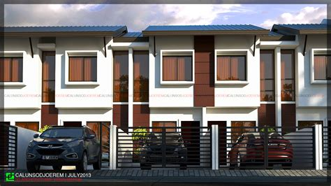 2 storey apartment floor plans philippines jecalunsod architectural visualization residential projects