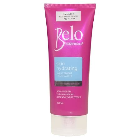 Wash Whitening Silver 100ml belo essentials skin hydrating whitening wash 100ml