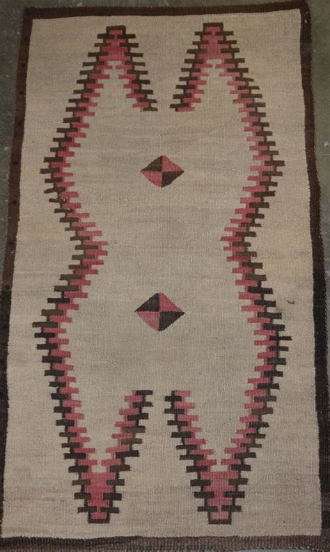 Southwest Rugs And Blankets by 5089 02 Early Navajo Indian Klagatoh Rug Blanket