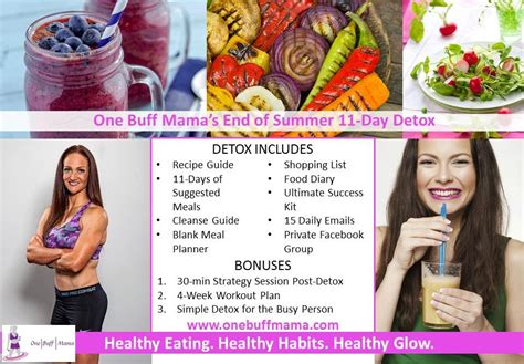 11 Day Detox by July 2014 One Buff