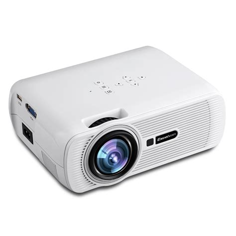 Led Projector excelvan 1080p mini home multimedia theater 1500 lumens lcd led projector hdmi ebay