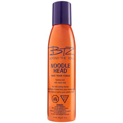 beyond the zone color mousse beyond the zone noodle curl mousse