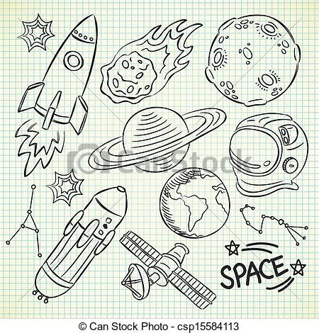 what do doodle drawings vector clip of space doodle csp15584113 search