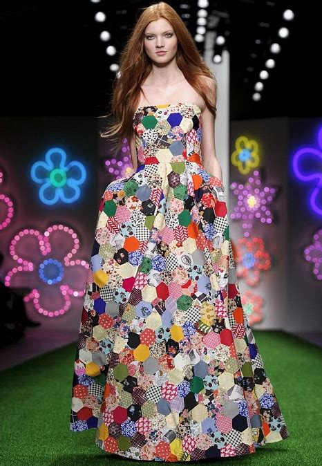 Patchwork Designers - jasper conran brightens up fashion week with