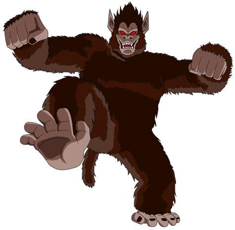 imagenes de goku ozaru image kid goku great ape png dragonball fanon wiki