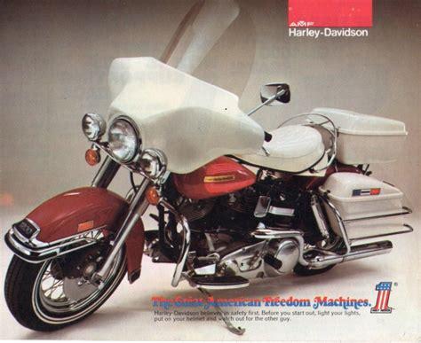 Harley Davidson White Brown scotty elvis flh 1200 murdo