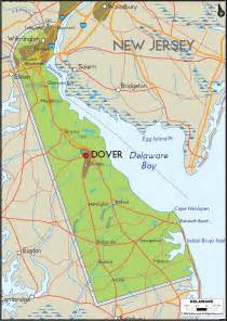 united states map delaware physical map of delaware ezilon maps