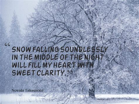 10 Of My Favorite Quotes by 10 Of My Favorite Quotes About Snow Quoty
