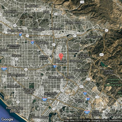 orange county usa map attractions and gardens in orange usa today