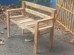 Free Woodworking Garden Bench Plans by Pallet Outdoor Bench Pallet Ideas 1001 Pallets