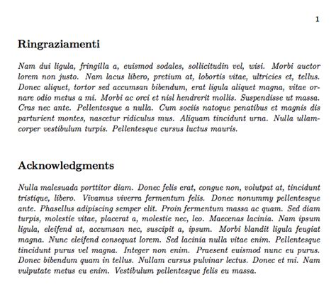 Acknowledgement Section by Environments How Can Define An Acknowledgement Section