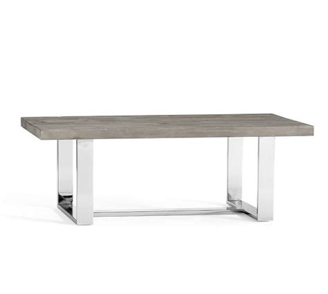 durham rectangular coffee table pottery barn
