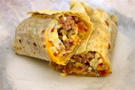 lot of breakfast burritos out there we plan to try a lot of them the world of breakfast burritos there are a lot of