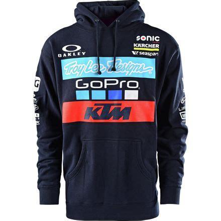 troy lee design ktm hoodie troy lee designs 2017 ktm team pullover hoody motosport