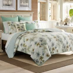 Quilt Sets Bahama Serenity Palms Quilt From Beddingstyle