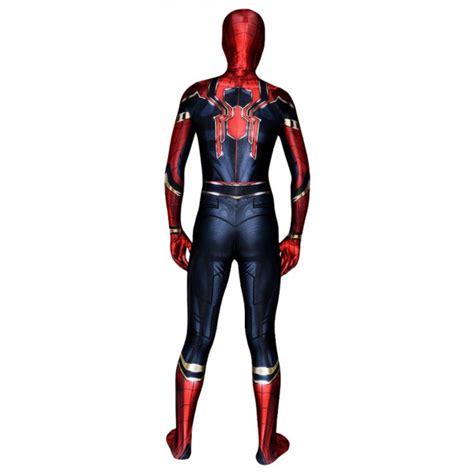 iron spiderman avengers infinity war spider man