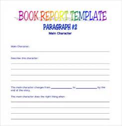 Book Template Pdf by 9 Book Report Templates Free Sles Exles