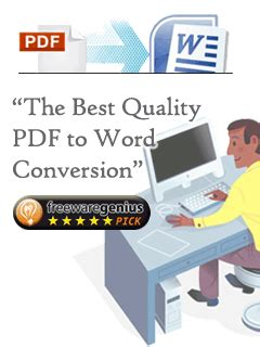 convert pdf to word best quality free pdf to word download