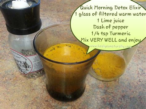 Turmeric And Detox Drink by Maximize Detoxing With This Lemon Turmeric Pepper Drink