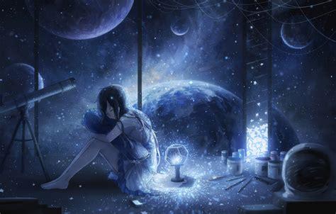 galaxy space zerochan anime image board