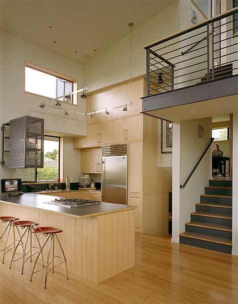 Kitchen Designs For Split Level Homes Modern Remodel Of The Post War Split Level House Into A Five Level House Digsdigs
