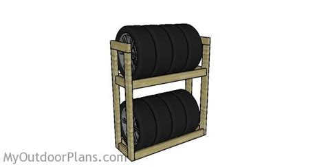 tire rack plans myoutdoorplans  woodworking plans  projects diy shed wooden