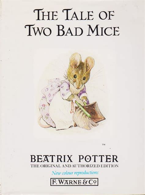a by any other name tale of two books the tale of two bad mice beatrix potter rabbit
