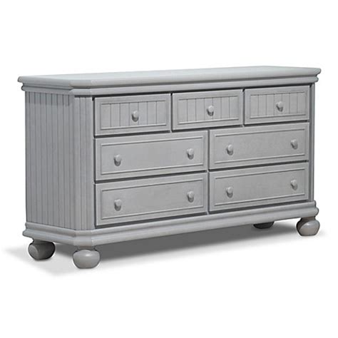 sorelle providence dresser gray sorelle finley 7 drawer double dresser in stone grey bed