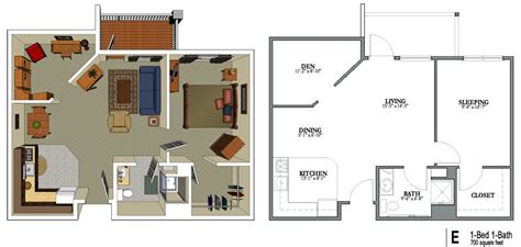 700 sq feet 700 square foot house plans numberedtype