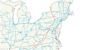 interstate map file interstate 81 map png
