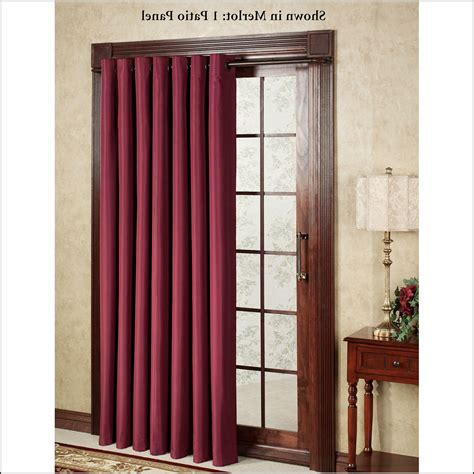 curtains for balcony doors thermal patio door curtains patios home decorating