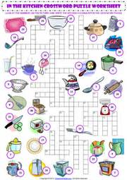 Small Home Appliances Crossword Kitchen Vocabulary Esl Printable Worksheets And Exercises