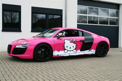 pink audi r8 pink audi r8 v10 hello you autoevolution
