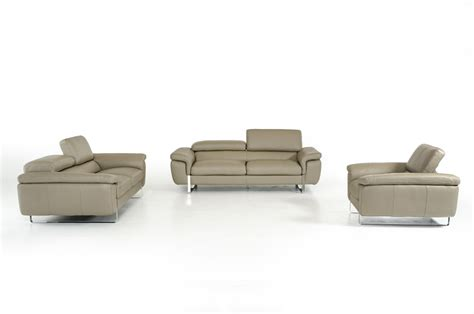 grey leather sofa set david highline italian modern grey leather sofa set
