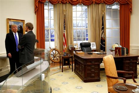 trumps oval office donald trump won t work in the oval office white house