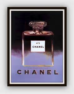 Chanel Wall Decor by Andy Warhol Chanel Large Framed By 13westdesign Etsy