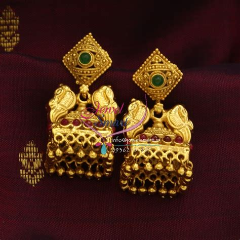 design earrings online e0679 exclusive gold design jewellery online screw lock