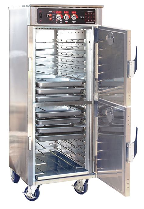 food warming equipment transport cabinet with cook hold