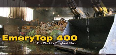 1 emery aggregate concrete floor topping emerytop 400 laticrete