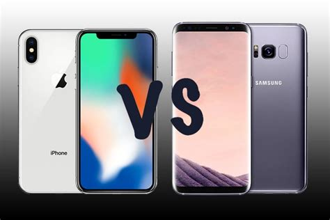 iphone v samsung iphone x vs samsung galaxy s9 which one s for you
